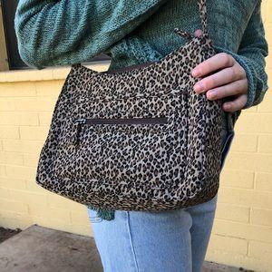 leopard print bag!